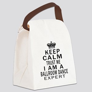 Ballroom Dance Expert Designs Canvas Lunch Bag