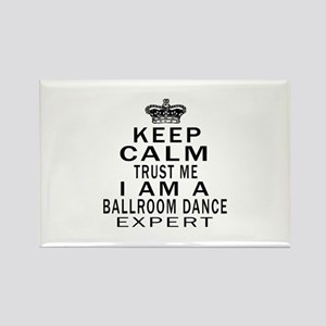Ballroom Dance Expert Designs Rectangle Magnet