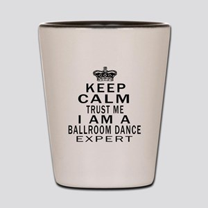 Ballroom Dance Expert Designs Shot Glass
