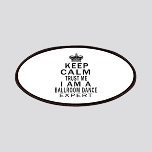 Ballroom Dance Expert Designs Patch