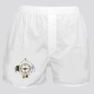 Hiker's Soul Compass Boxer Shorts