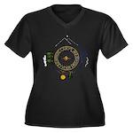 Hiker's Soul Compass Plus Size T-Shirt