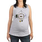Hiker's Soul Compass Maternity Tank Top