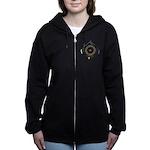 Hiker's Soul Compass Women's Zip Hoodie