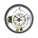 Hiker's Soul Compass Wall Clock