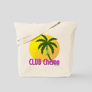 Club Chemo-Lymphoma Tote Bag