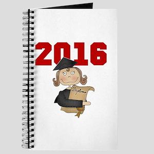 Red Girl Grad 2016 Journal