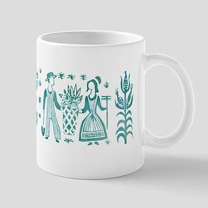 Butterprint - Aqua Mugs