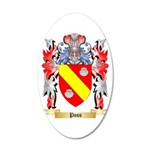 Poss 20x12 Oval Wall Decal