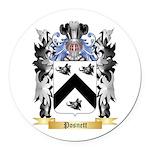 Posnett Round Car Magnet
