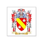Poschel Square Sticker 3