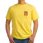 Porumbe Yellow T-Shirt