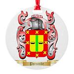 Porumbe Round Ornament