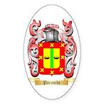 Porumbe Sticker (Oval 50 pk)