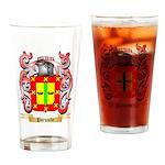 Porumbe Drinking Glass