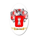 Portillos 20x12 Oval Wall Decal