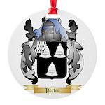 Porter Round Ornament