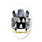 Porter 35x21 Oval Wall Decal
