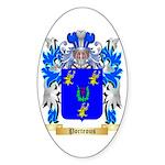Porteous Sticker (Oval 10 pk)