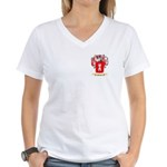 Portela Women's V-Neck T-Shirt