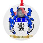 Portalier Round Ornament