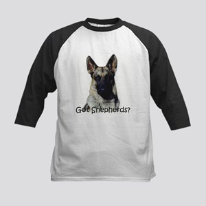 German Shepherd lover, Kids Baseball Jersey