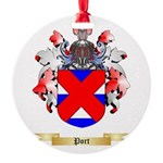 Port Round Ornament