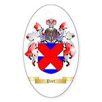 Port Sticker (Oval 50 pk)