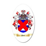 Port 35x21 Oval Wall Decal