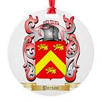 Porson Round Ornament