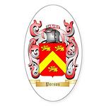 Porson Sticker (Oval 10 pk)