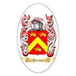 Porson Sticker (Oval 50 pk)