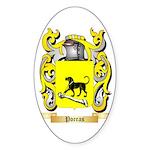 Porras Sticker (Oval 10 pk)