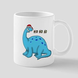 Ho ho christmas dino Mugs
