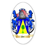 Por Sticker (Oval 10 pk)