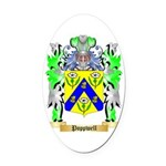 Poppwell Oval Car Magnet