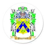 Popplewell Round Car Magnet