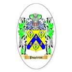 Poppleton Sticker (Oval 10 pk)