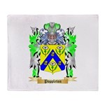Poppleton Throw Blanket