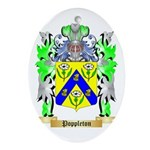 Poppleton Oval Ornament