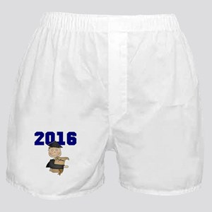 Blue Male Grad 2016 Boxer Shorts