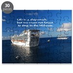 Life is a shipwreck Puzzle