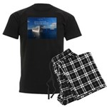 Life is a shipwreck Men's Dark Pajamas