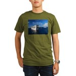 Life is a shipwreck Organic Men's T-Shirt (dark)