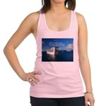 Life is a shipwreck Racerback Tank Top