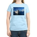 Life is a shipwreck Women's Light T-Shirt