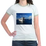 Life is a shipwreck Jr. Ringer T-Shirt