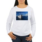 Life is a shipwreck Women's Long Sleeve T-Shirt