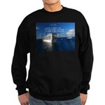 Life is a shipwreck Sweatshirt (dark)