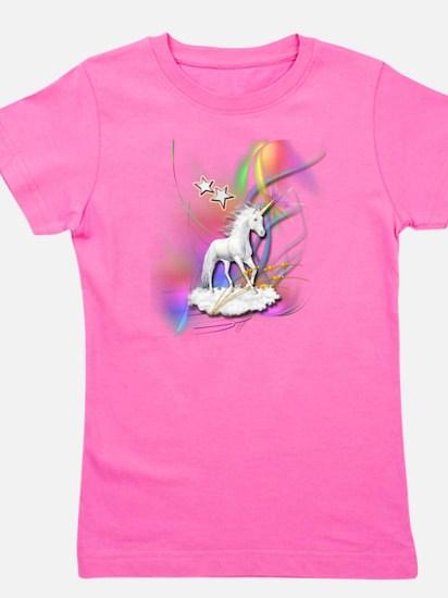 Cute Beautiful unicorn Girl's Tee
